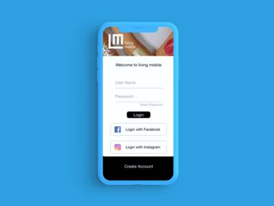 MIT Living Mobile App