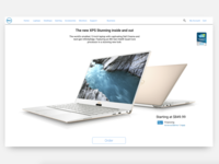 Dell.com Product Page Concept