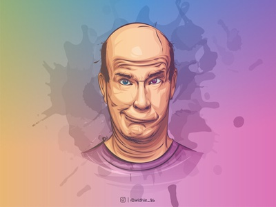 sadBoy cartoon photomanipulation indonesia graphicdesign illustration design coreldraw lineart vector portrait
