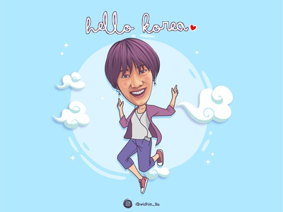 Ria SW design girl cartoon indonesia graphicdesign photomanipulation portrait illustration coreldraw lineart vector