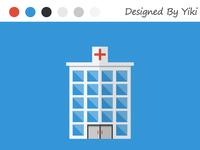 Flat Design —— Hospital