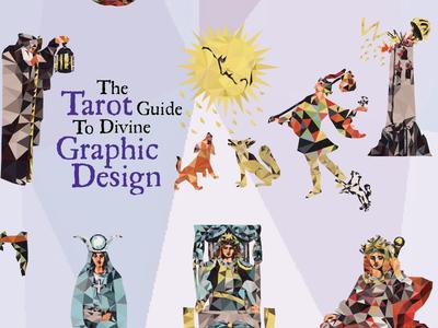 Tarot Guide to Divine Graphic Design tarot deck detail