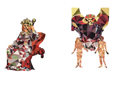 Tarot Guide to Divine Graphic Design tarot deck detail (2)
