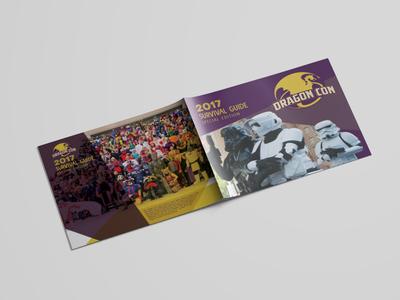Dragoncon Booklet Mockup survival guide convention sci-fi nerd dragon con