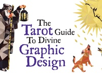 Tarot Guide to Divine Graphic Design tarot deck