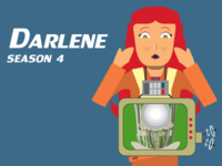 Darlene Character Card, Dice For Brains podcast