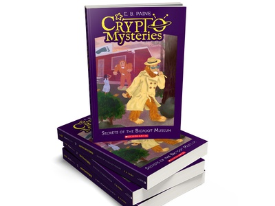 Crypto Mysteries, children's book series covers mysteries weird cryptozoology book series mystery books childrens books book covers books
