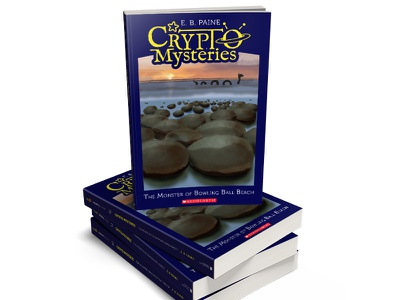Crypto Mysteries, children's book series covers (2) novels illustration childrens books book covers childrens book series cryptozoology monsters