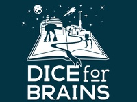 Dice For Brains logo variant