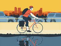 AM Commuter Poster