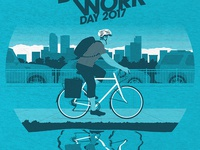 Bike to Work Day 2017 Shirts