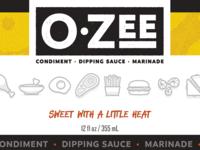 O-Zee Sauce Label