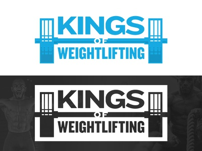 Kings of Weightlifting Logo kids program king workout gym olympian los angeles weights weightlifting pro bono
