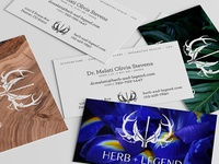 Herb+Legend Business Cards