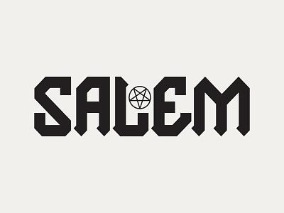 Salem type typography design graphic design logo branding