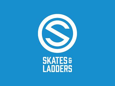 Skates & Ladders logo design graphic design branding