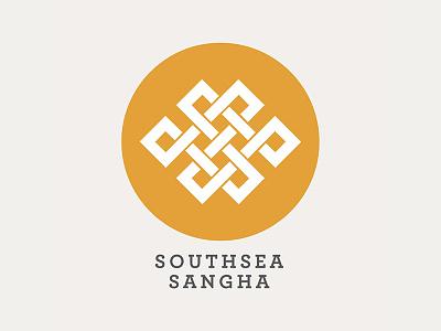 Southsea Sangha logo graphic design design branding