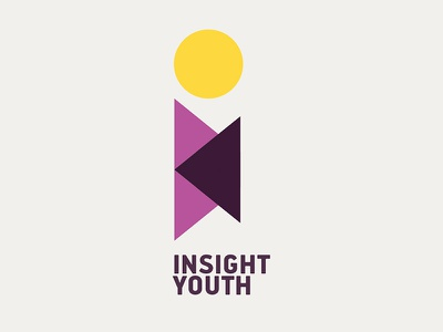Insight Youth logo graphic design design branding