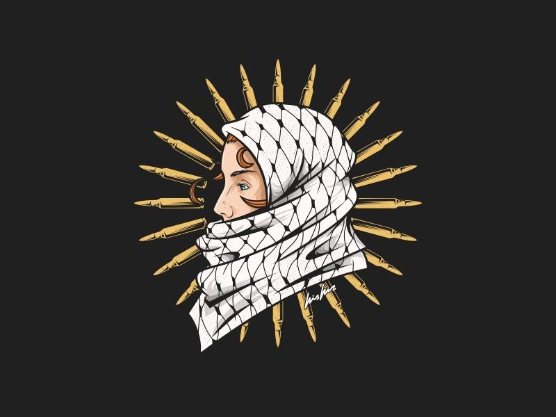 Stop War victim war bullet beautiful girl logodesign vector vectorart vector illustration mask illustration icon emblem design beast badge logo badass