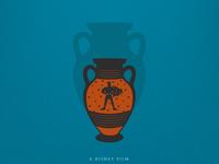 Minimal Movie Poster Series | Hercules