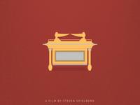 Minimal Movie Poster Series | Raiders Of The Lost Ark