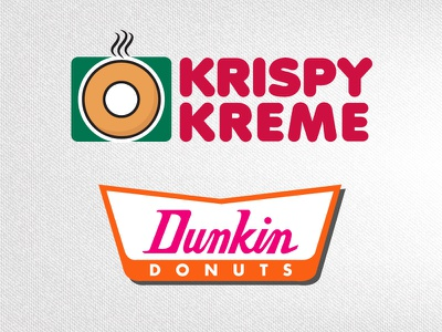 Brand Identity Switch Series | Donuts  dunkindonuts krispykreme donuts typography brandidentity branding illustrator design