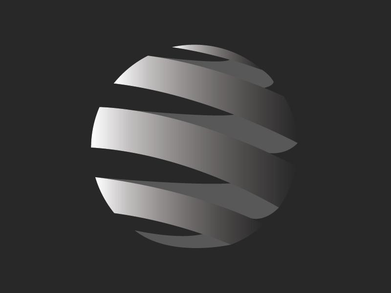 AT&T Death Star - Random Logo Concept hurricaneirma atlanta concept logo minimal illustrator branding design