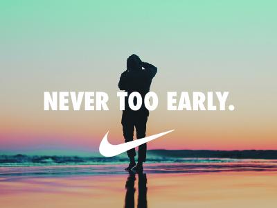 Mock Nike Ad | Early Bird