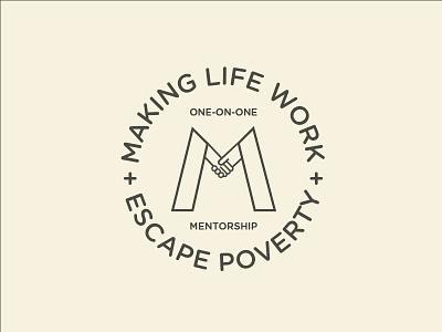 Making Life Work atlanta creative probono nonprofit branding brandidentity logodesign illustrator design