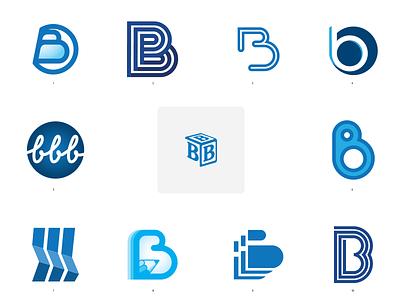 BBB2020 branding blue bbb design vector logo illustration