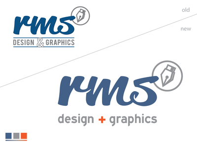 RMS Update typography personal brand dutchdesign texas dutch branding icon design illustration vector logo