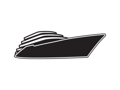 Logodesign Superyacht icon ship icon artwork illustration