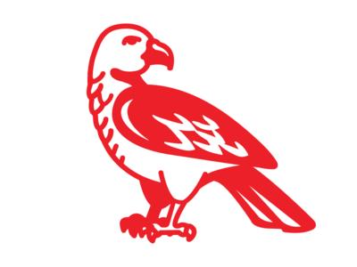 Garuda flag garuda bird illustration