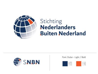 S.N.B.N logo competition orange logo dutch government globe