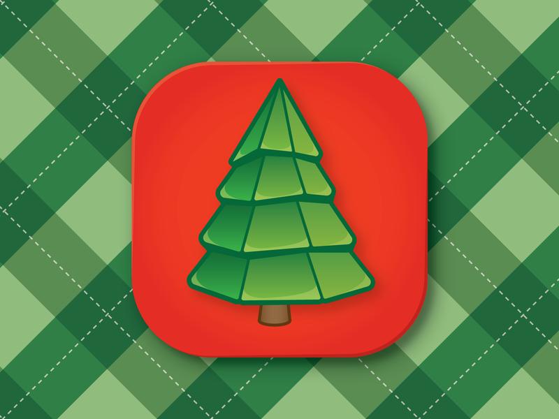 RMS HoHoHo2019 hohoho tree icon christmas illustration