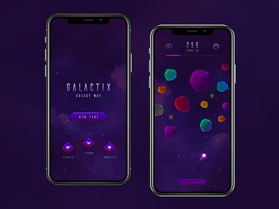 GalactiX play space ios app game