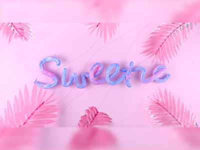 sweetie illustration color