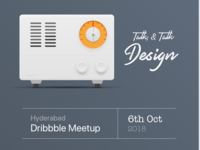 Hyderabad Dribbble Meetup 2018