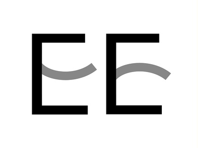 """""""E"""" - Le Nuove Muse type design detail e identity branding type lettering typography logotype logo"""