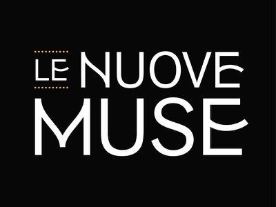 Logotype - Le Nuove Muse typography design type logotype logo lettering identity e detail branding