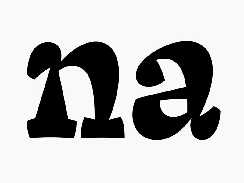 Cimer heavy lettering typeface type design type typography
