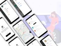 Driver App for ride sharing platform