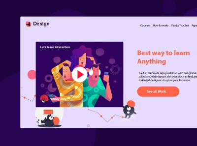 Online Course Hero Design