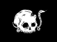 Rotten Goods Skull