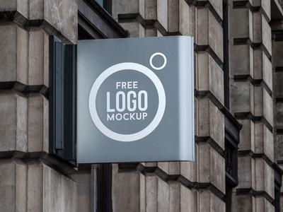 Free Outdoor Advertising Shop Sign Logo Mockup PSD signmockup shopsignmockup freemockup mockuppsd psdmockup psd mockup freebie outdoormockup shopmockup logomockup