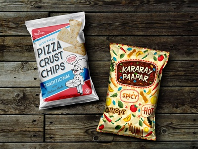 Free Snack Pack Packaging Mockup PSD chips packaging mockup packaging mockup mockup psd psd mockup free mockup pouch mockup