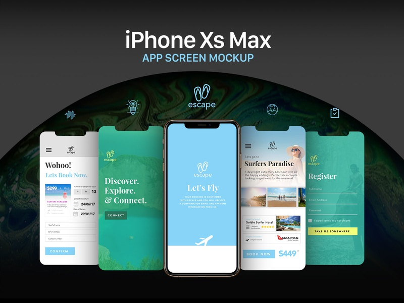 Free Apple iPhone Xs Max App Screen Mockup PSD apple psd mockup mockup free screen mockup app screen mockup download psd freebie mockup iphone mockup mockup psd free mockup iphone xs max app mockup app mockup iphone xs max mockup iphone xs max apple iphone xs max