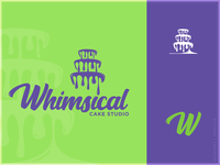 Whimsical Cake Studio - Logo