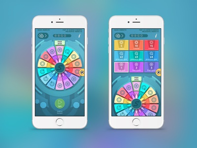 Wheel of Fortune interface game slot