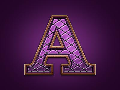 Letter lettering letter symbol a slot game